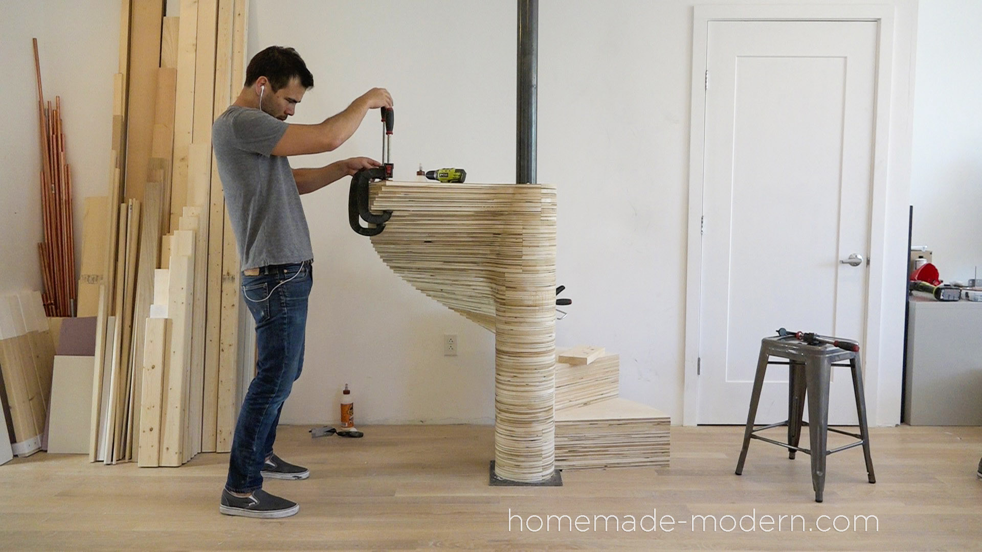 Top Circular Staircase Design Diy Wooden Steps Wood Spiral Stairs