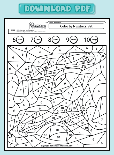 Color By Math. math color by number worksheets free christmas ...