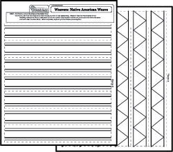Art Worksheets Paper Weaving