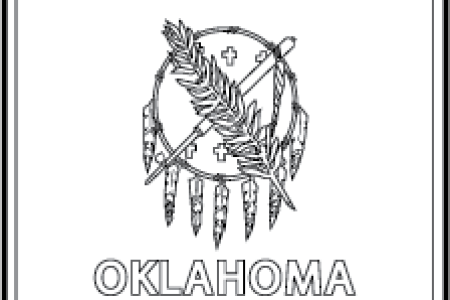 State Of Oklahoma Flag Full Hd Maps Locations Another World