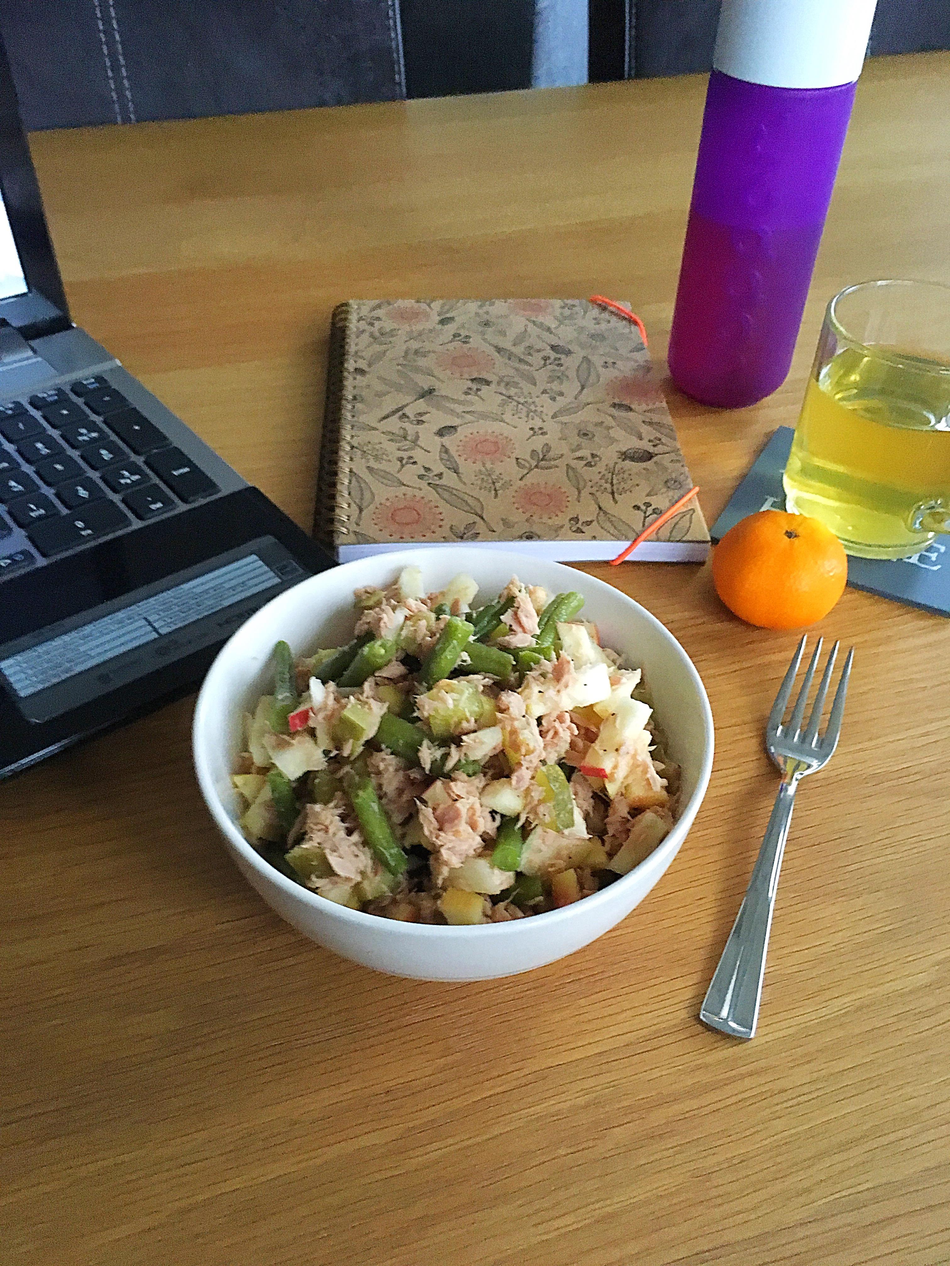 ❤️ Tonijn Appel Sperziebonen Salade