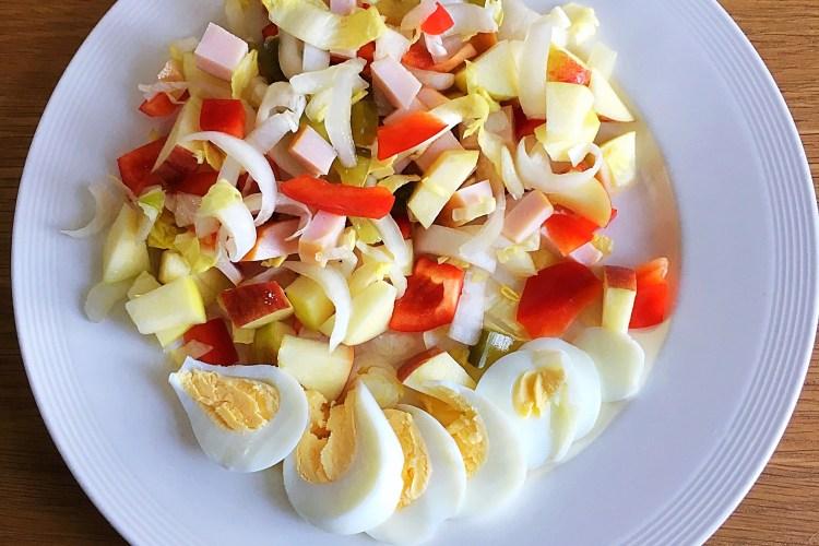 Witlof kip salade