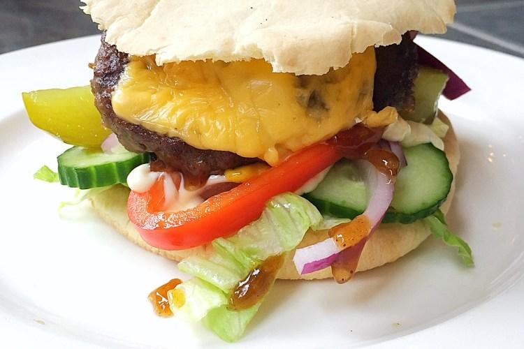 Burger cheddarkaas