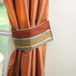 How to Make Curtain Tie Backs