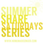 Summer Share Saturday: Julia from It's Always Ruetten