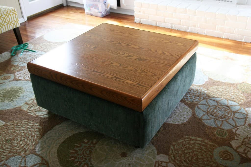 coffee table into an ottoman