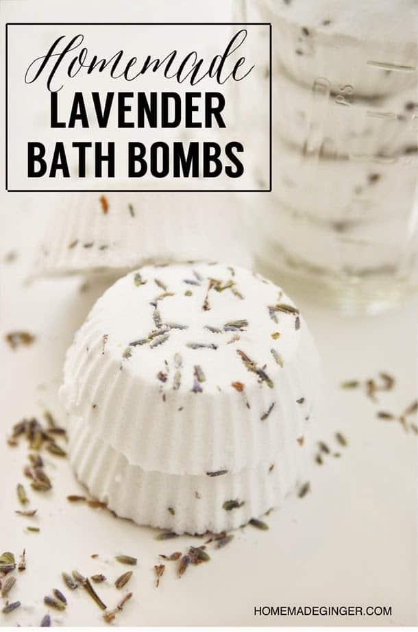 homemade lavender bath bomb recipe
