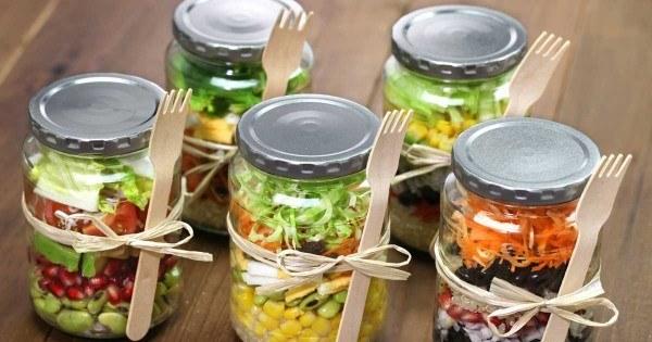Image result for mason jar meals