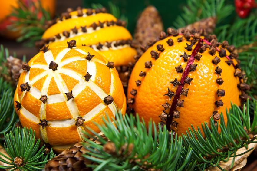 Orange Studded With Cloves