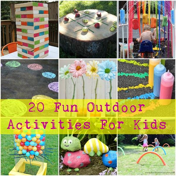 20 Fun Outdoor Activities For Kids