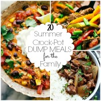 Summer Crockpot Dump Meals for the Family