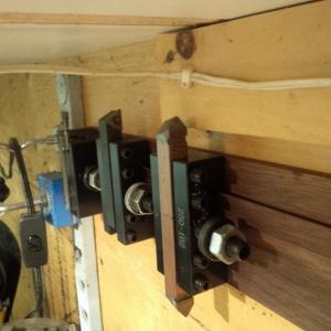 homemade quick change tool holder rack