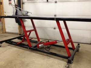 Motorcycle Lift Table