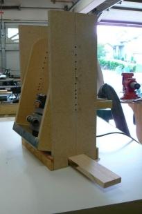 Homemade Radius Sanding Block Jig Homemadetools Net