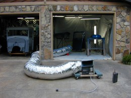 Homemade Paint Booth Plans Home Crazy