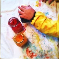 Cabin Fever Crafts: Homemade Finger Paint
