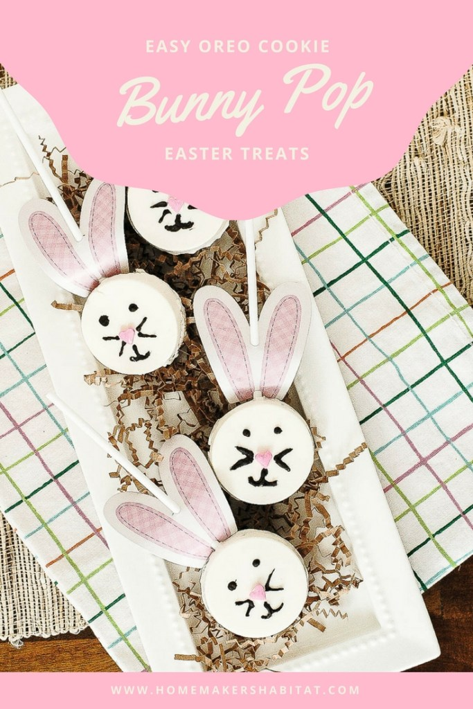 Easy Oreo Bunny Pops
