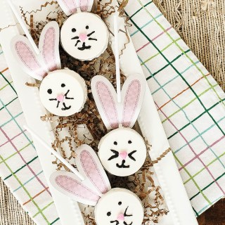 Elevate Your Easter Basket with Easy Oreo Bunny Pops + Free Printable Ears