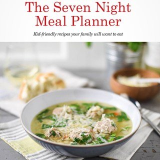 Free Recipe Booklet: The Seven Night Meal Planner