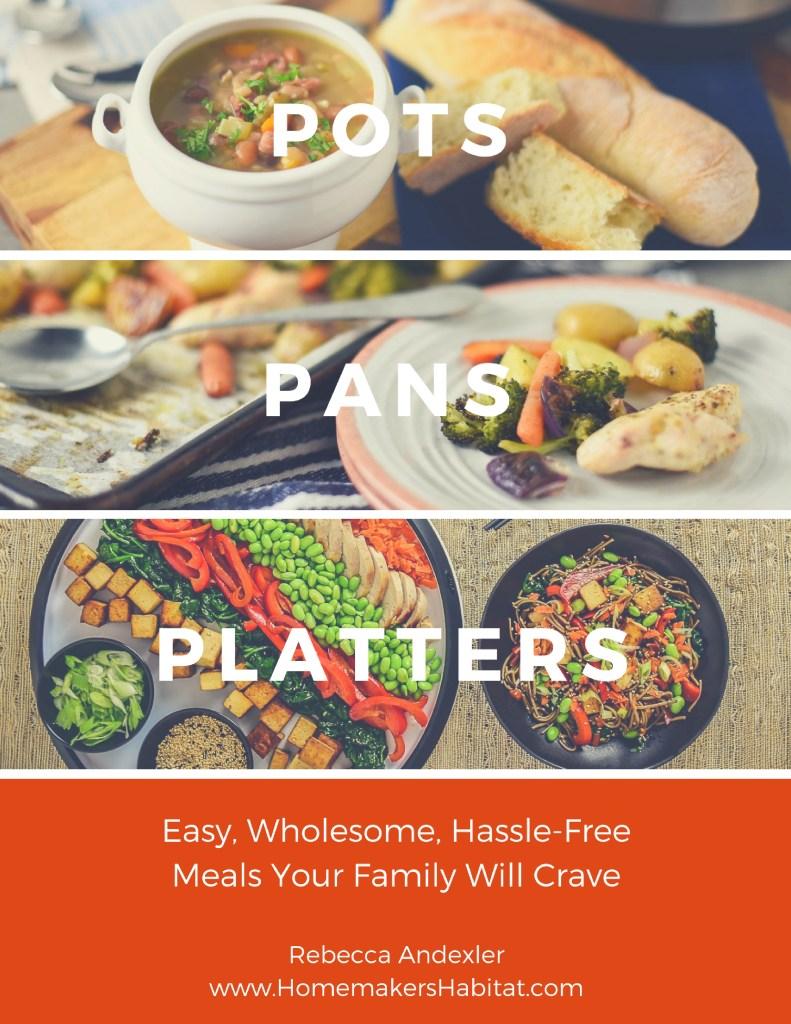 POTS. PANS. PLATTERS. Digital Cookbook