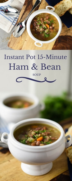 15 Minute 15 Bean Soup