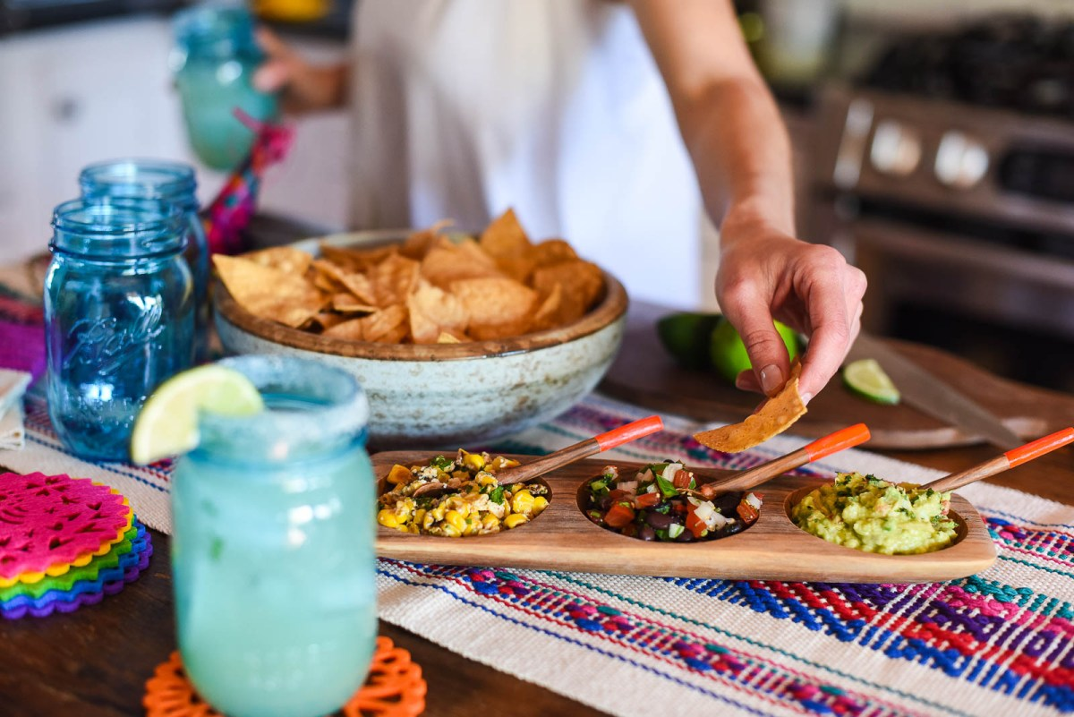 Easy Dips, Drinks and Decor for a Fantastic Happy Hour Fiesta
