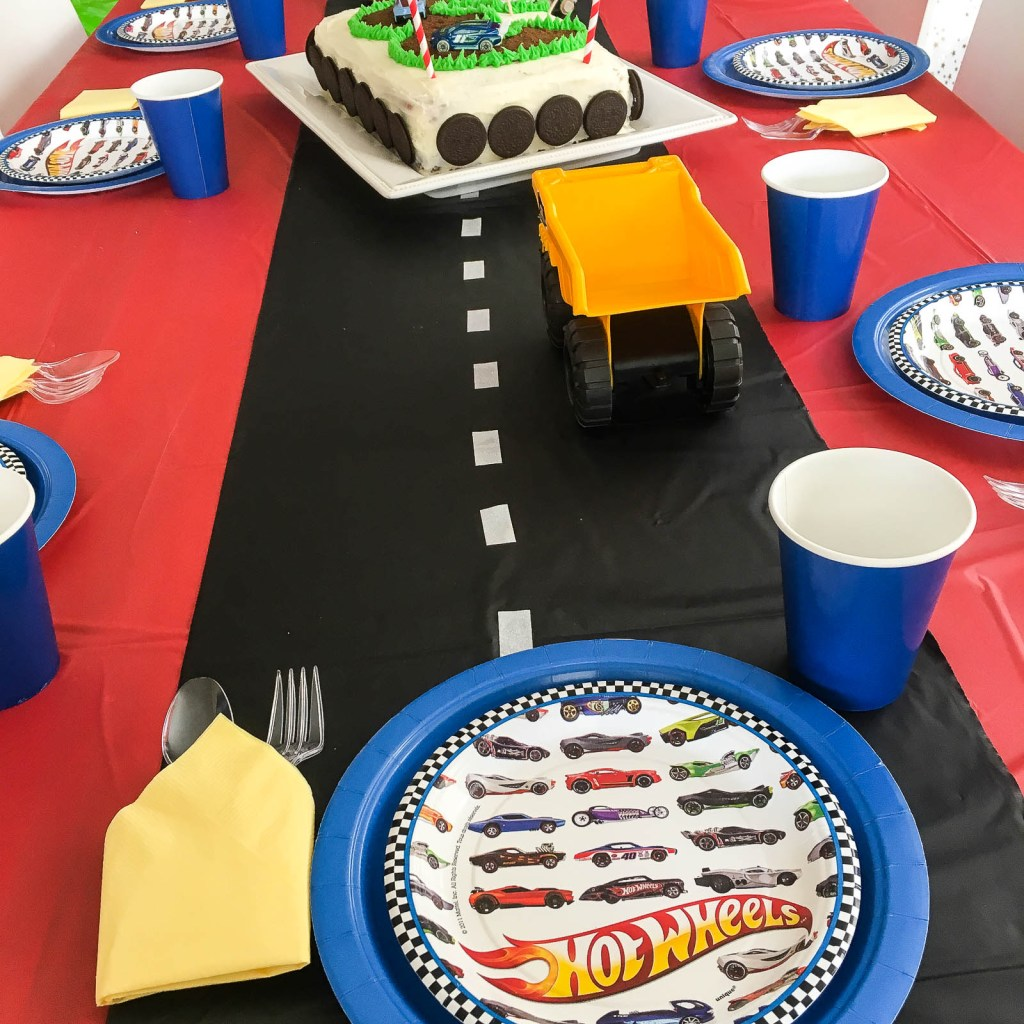 Easy Ideas for an Awesome Race Car Birthday Party
