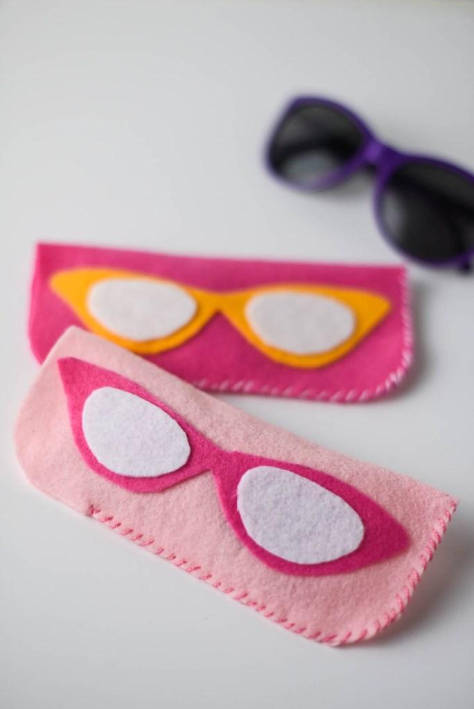 DIY Felt Eyeglass Case