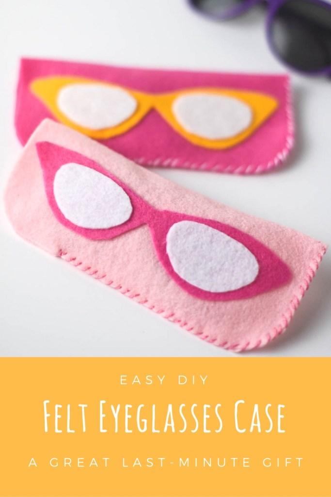 DIY Felt Eyeglasses Case