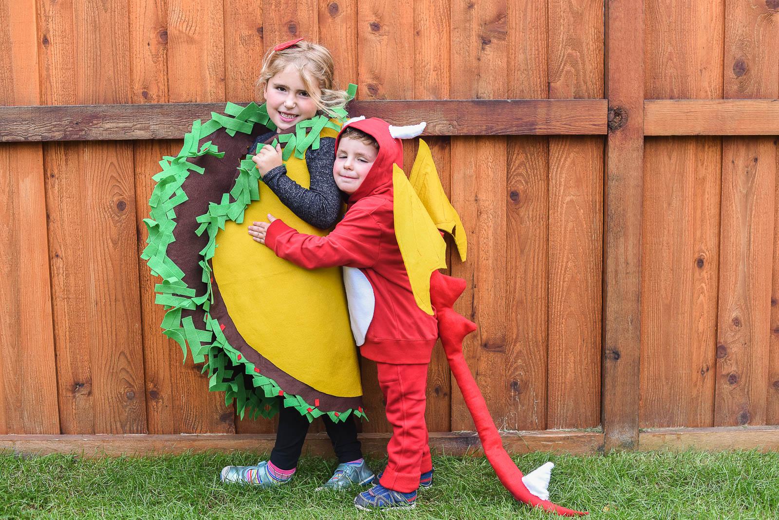 Dragons Love Tacos Costumes DIY  sc 1 st  Homemakeru0027s Habitat & Easy DIY Dragons Love Tacos Costumes for Kids u2022 Homemakeru0027s Habitat