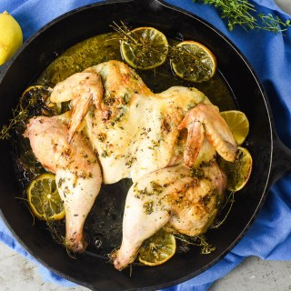 Split Roast Chicken