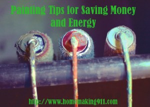 Painting Tips for Saving Money and Energy