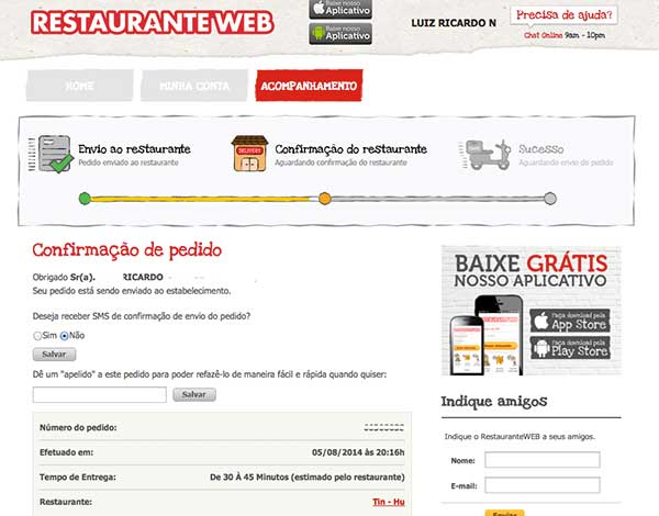 confirmacaopedido_restauranteweb