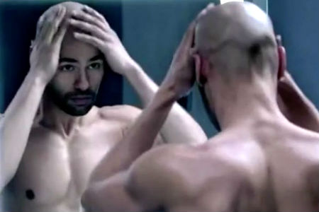 Homem No Espelho - Cabelo masculino - queda de cabelo