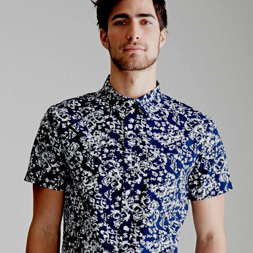 Homem No Espelho - Camisas estampadas10