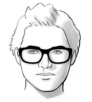 Homem No Espelho - Óculos e formatos de rosto - Redondo