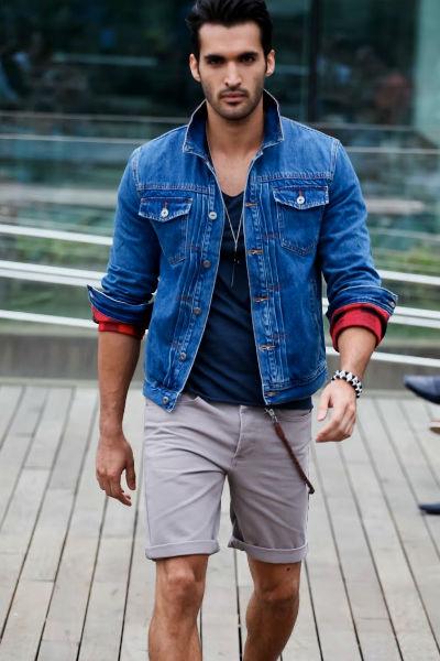 Homem No Espelho - Jaqueta jeans 10