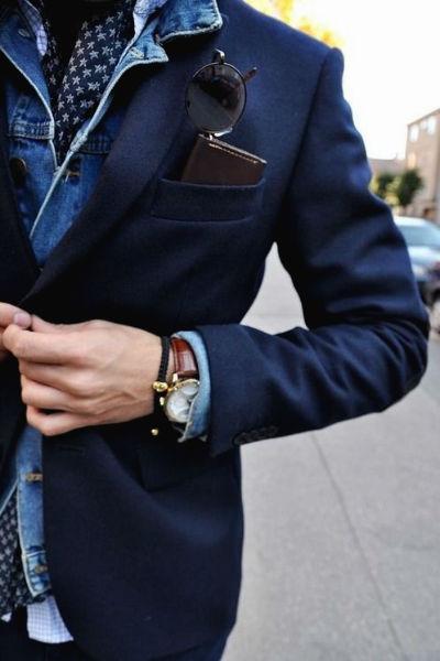 Homem No Espelho - Jaqueta jeans 11