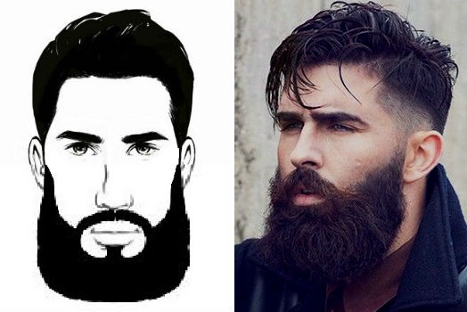 Homem No Espleho - Estilos de barbas2