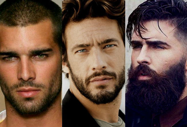 Homem No Espelho - 12 estilos de barbas.