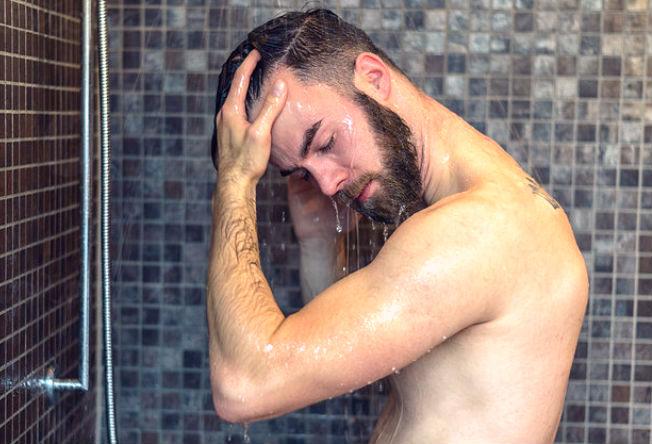 Homem No Espelho - Banho4