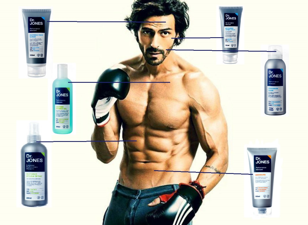 Homem No Espelho - Linha de produtos masculinosa DR.JONES