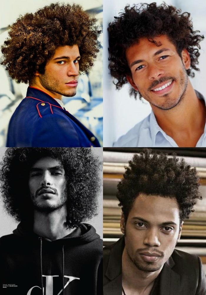 Homem No Espelho - Novos cortes de cabelos masculinos - Afro