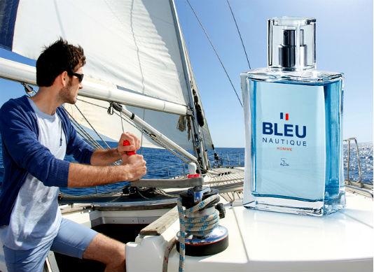 Homem No Espelho - perfume Bleu Nautique Jequiti