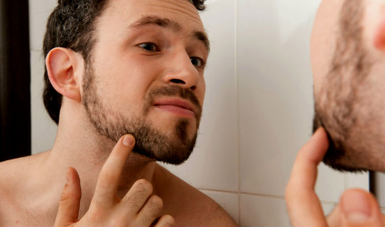 Homem No Espelho - Barba rala2