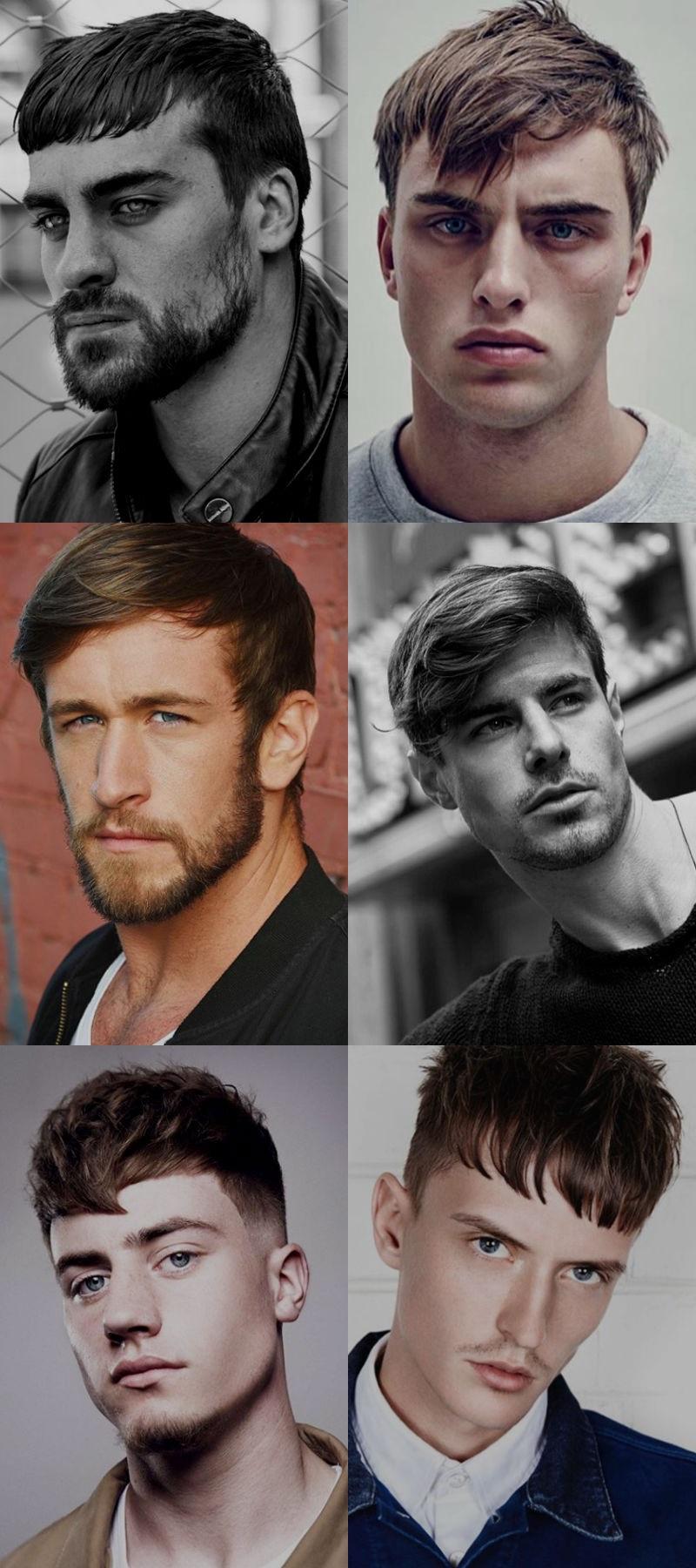Homem No Espelho - Cortes de cabelo masculinos 2016 - Franjas
