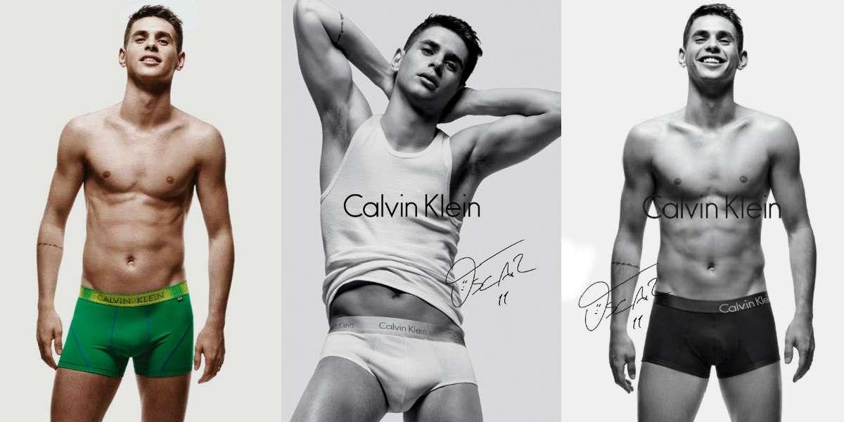 Homem No Espelho - Calvin Klein a cueca que é objeto de desejo