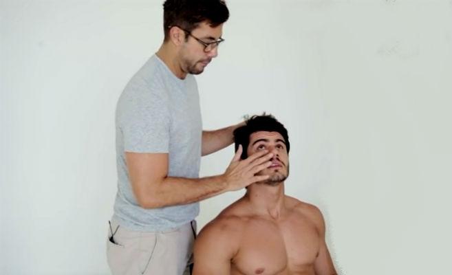 Homem No Espelho - Fernando Torquetto - Maquiagem masculina-