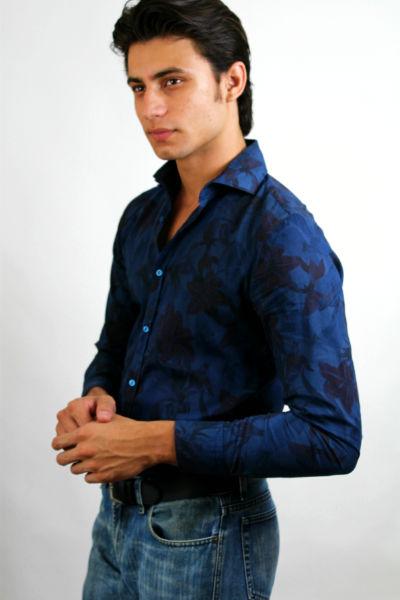Homem No Espelho - Moda masculina - Camisa estampada