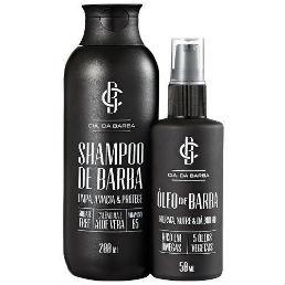 Loja Homem No Espelho - Kit com Shampoo e Óleo de Barba Cia